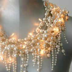 Pearl String Lights...magical