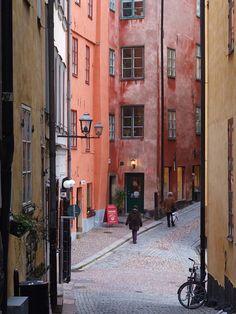 Sweden - more colours of Gamla Stan, Stockholm