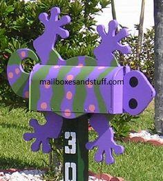 gecko mailbox