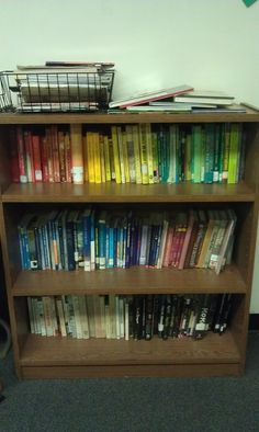 Organize your Books by Color!
