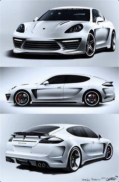 Porsche Panamera Stingray GTR (photo 10)