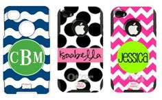 Personalized otter box. Seriously so cute