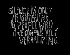 Silence quote - Lisa Congdon