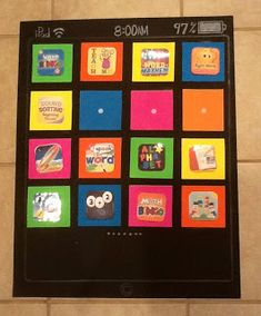 Math apps choice board during math workshop (too cute)! - http://malchowsreflections.blogspot.com/2012/10/keeping-it-all-straight.html
