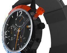 watch time, uniqu watch, watch concept, kornwit damrongwisetpanit, redlin concept