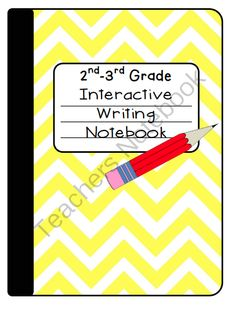 Interactive Writing Notebook for 2nd-3rd Grade from Inspire the Love of Learning on TeachersNotebook.com -  (56 pages)  - This Interactive Notebook includes 56 pages full of templates, foldables, notes, and helpful ways for students to learn the writing process.