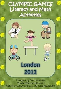 Uk made literacy and math activities for the 2012 Olympic Games.This pack is filled with the following:ContentsLiteracy ActivitiesW...