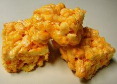 Cheetos Marshmallow Treats | Foodbeast http://foodbeast.com/content/2012/01/22/cheetos-marshmallow-treats/