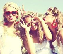 I can't wait for summer with my friends(: