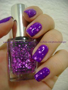 """NYX """"Super Funk"""" Purple Glitter"""
