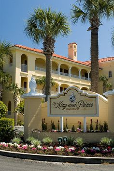 Can't wait to enter here in a few weeks...much needed Spring Break. The King and Prince Beach & Golf Resort - St Simons Island