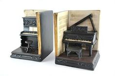 Bookends on pinterest 158 pins - Piano bookends ...