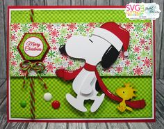 Pink Glitter Studio, Charlie Brown Holiday Collection Blog Hop, free files today and tomorrow...only..adorable...