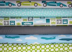 Boy Toys quilt or craft fabric bundle by Print and Pattern by fabricshoppe, $16.50