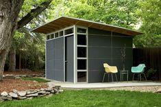 Modern affordable studio shed