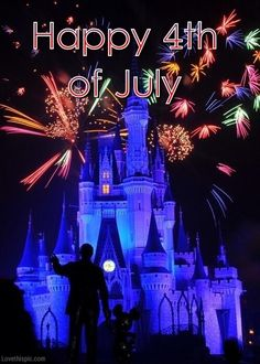 disney world during 4th july