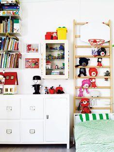 soft toy storage - ladder!