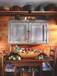 Home & Interior Design: Style Guide: Early American, Primitive