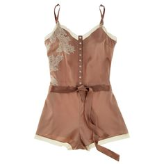 mocha silk teddy