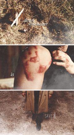 September 18, 2008: Dean Winchester is saved. #spn