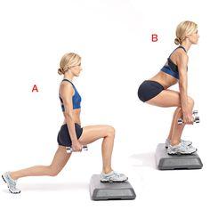 Skater's Step-up | Women's Health Magazine