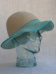 15 Crochet Hat Patterns for Summer | AllFreeCrochet.com