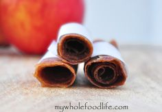 Apple Pie Fruit Leathers