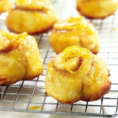 Orange Biscuits (I saw a similar recipe on Pinterist, but the link was blocked as suspicious so I hunted this one up)