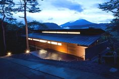 Stunning Contemporary Home In Japan Featuring Spectacular Views Of Mount Asama