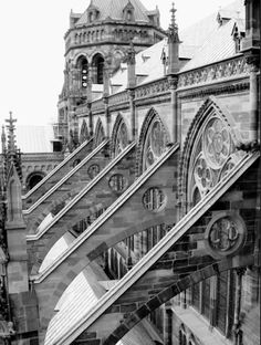 flying buttresses #architecture