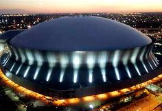 The Superdome located in New Orleans is home field for Tulane University and the Saints and hosts the Sugar Bowl each year.