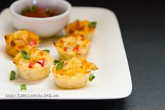 Red Pepper and Shallot Pizza Puffs   |  Life Currents  http://lifecurrents.dw2.net Pizza Puffs: bite sized treats that are perfect for happy hour, appetizers, lunch, or nibbles while watching football! #appetizer #snack #pizza