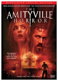 Availability: http://130.157.138.11/record=b3737143~S13 The Amityville Horror (Widescreen Special Edition) / screenplay by Scott Kosar ; directed by Andrew Douglas. A young couple and their children who move into a house that was once the site of a horrific series of murders.