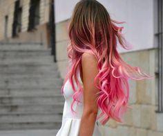 Pink hair | via Facebook