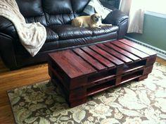 Pallet Coffee Table, DIY