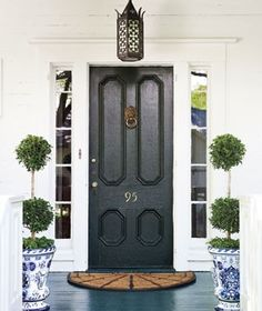 Chinoiserie Chic: The Chinoiserie Front Door