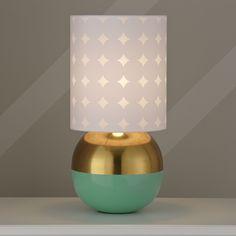 Half Karat gold dipped lamp