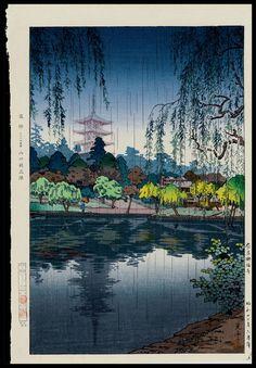 Koitsu, Tsuchiya (1870-1949) - Nara Kofukuji Temple, Japanese Woodblock Print
