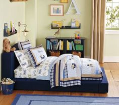 Low lying bed, perfect for transitioning little ones!