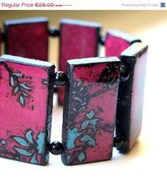 paper bracelet #paperjewelry