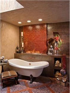 Transitional (Eclectic) Bathroom by Cindy Aplanalp