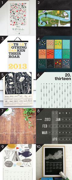 2013 CALENDARS – PART 6