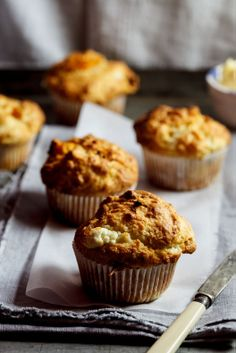 Pumpkin & Goat's cheese muffins | Simply Delicious #recipe #food #vegetarian