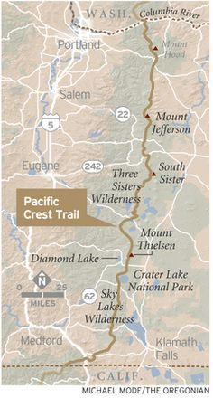 Pacific Crest Trail -- five stretches not to miss | OregonLive.com