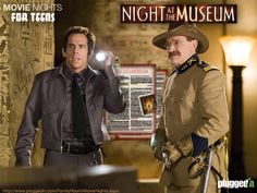 Download our free discussion sheet, rent Night At The Museum & have a fun movie night with your family.