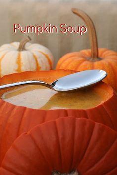 Pumpkin Soup #fall #recipe #fallrecipe #soup #pumpkin #autumn