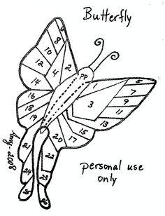 Butterfly Iris Fold