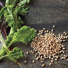 Lucky New Year's Meal | Greens and Black-eyed Peas | SouthernLiving.com