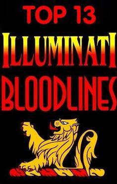 Top 13 Illuminati Bloodlines