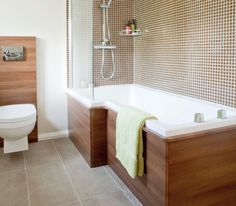 Love this shower bath combo!